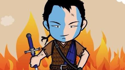 Kenji Fujimori vistió a su avatar de William Wallace y clamó