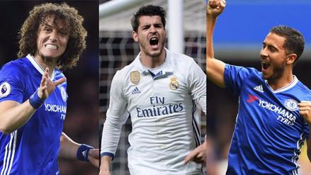 Con Álvaro Morata, el posible 11 del Chelsea para la temporada 2017/2018