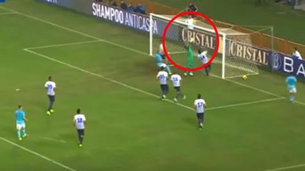 Leao Butrón salvó a Alianza Lima con una sufrida doble tapada
