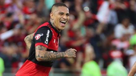 Paolo Guerrero anotó y brindó asistencia en el Flamengo vs. Palmeiras