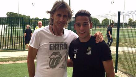 Ricardo Gareca sorprendió a todos visitando a Cristian Benavente
