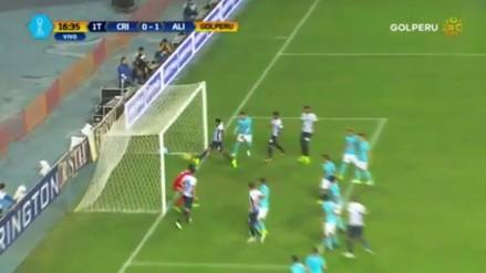 Lionard Pajoy anotó en la línea tras tiro libre de Luis Aguiar