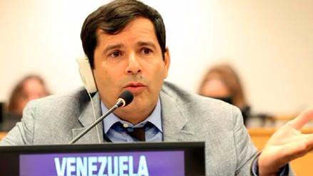 Diplomático venezolano en la ONU renuncia y pide a Maduro parar