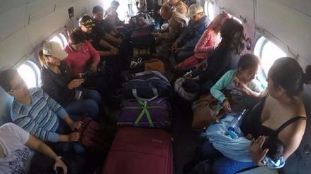 Culmina el traslado de pasajeros varados en Atico