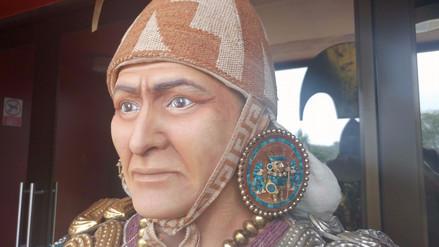 Develan rostro del Señor de Sipán tras conmemorarse 30 años de su hallazgo