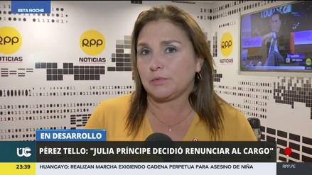 Pérez Tello separó a la procuradora Ampuero porque