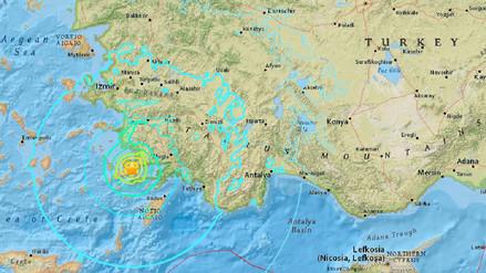 Un sismo de 6,7 grados sacude Turquía y Grecia y causa dos muertos