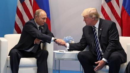 ¿De qué hablaron Putin y Trump en su reunión secreta del G20?