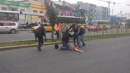 Peatones reportan imprudencia y accidentes en el cruce de Javier Prado con Brasil