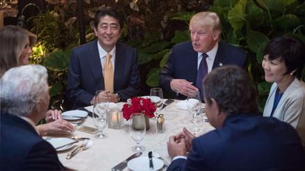 ¿La primera dama de Japón fingió no hablar inglés para evitar a Donald Trump?