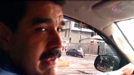 Maduro se graba manejando por Caracas para demostrar fracaso del paro
