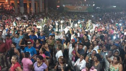 Cientos de pucallpinos despidieron bailando a Wilindoro Cacique