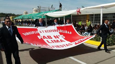 Internos del penal de Ica desfilaron por Fiestas Patrias