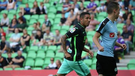Sergio Peña sigue sumando minutos con el primer equipo del Granada