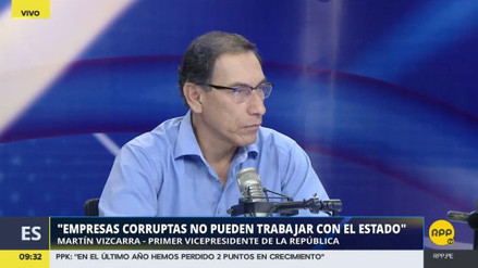 """Martín Vizcarra: """"Odebrecht no puede continuar trabajando en el Perú"""""""