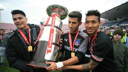 Christofer Gonzales ganó la Supercopa de Chile con Colo Colo