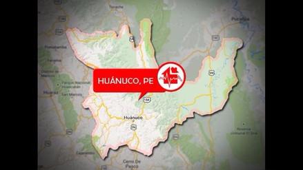 Sismo de 4.1 se presenta en distrito de Pachitea en Huánuco