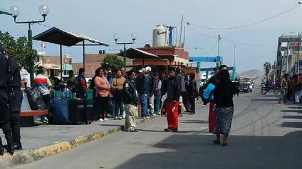 Pasajeros de Lima hacen transbordo para llegar a Arequipa