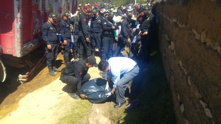 Un muerto y cinco heridos en vuelco de camión en Cajamarca