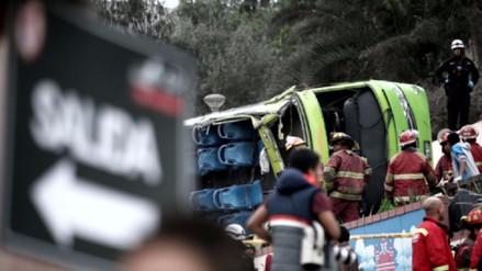 Estos fueron los motivos de la caída del bus en el Cerro San Cristóbal