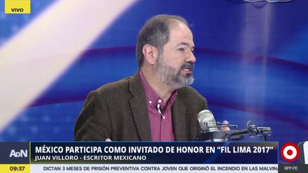 """Juan Villoro: """"Hay un proceso de complicidad entre el crimen organizado y los mandos locales"""""""