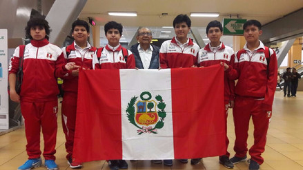 El Perú ganó cinco medallas en la Olimpiada Mundial de Matemáticas