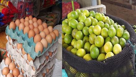 Se dispara precio del limón y huevos en mercados lambayecanos