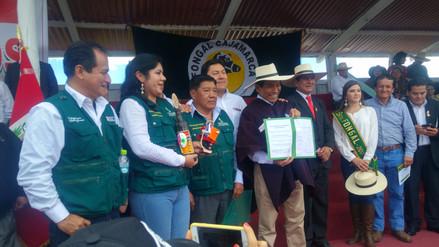Ministro de Agricultura inaugura Feria Fongal de Cajamarca