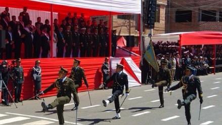 Protestas del Sutep obligan a suspender desfile cívico militar por Fiestas Patrias