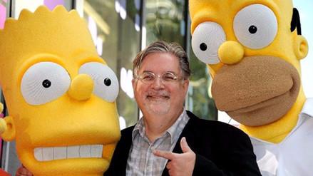 Creador de 'Los Simpsons' prepara una serie para Netflix