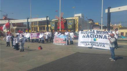 Chimbote: médicos se sumarán a huelga de hambre