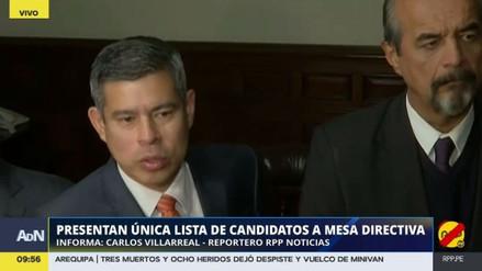 """Luis Galarreta: """"Será una Mesa Directiva dialogante y cordial"""""""