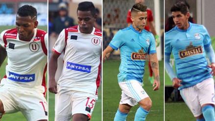 Las alineaciones confirmadas de Sporting Cristal y Universitario