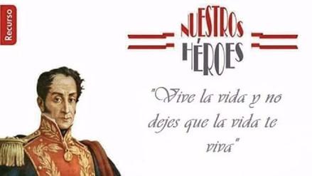 Memes | La confusión de San Martín con Bolívar llevada al máximo nivel