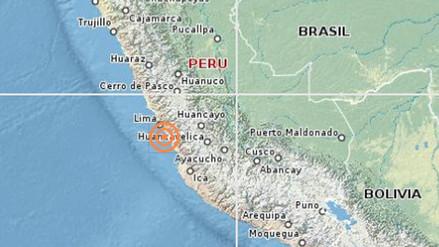 Un sismo de 3.8 grados de magnitud se registró en Lima esta mañana