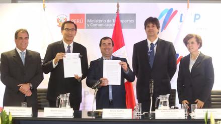 Gobierno y LAP firmaron adenda para ampliar el aeropuerto Jorge Chávez