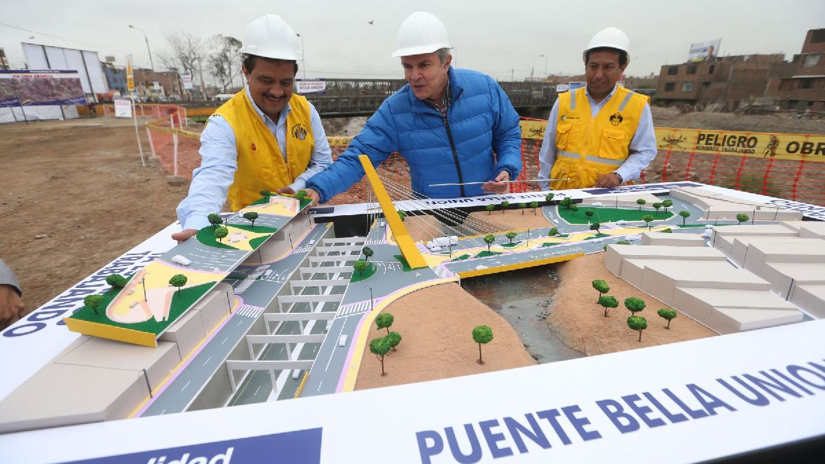 Castañeda dice que el puente Bella Unión aún no se ha inaugurado