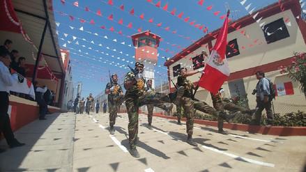 Internos del penal de Chiclayo participaron en desfile por Fiestas Patrias