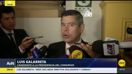 "Luis Galarreta: ""Yo siempre he sido moderado"""