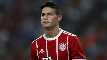 James desmitió haber dicho que el Bayern
