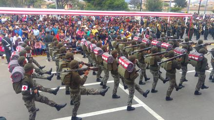 Policías y Ejercito fueron los más aplaudidos durante desfile por Fiestas Patrias