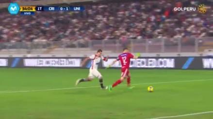 Mauricio Viana regateó a Hernán Rengifo y casi le costó otro gol