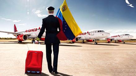Avianca suspende desde este jueves sus vuelos a Venezuela por razones de seguridad