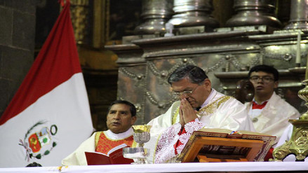 Arzobispo solicitó sabiduría, unidad y responsabilidad a gobernantes