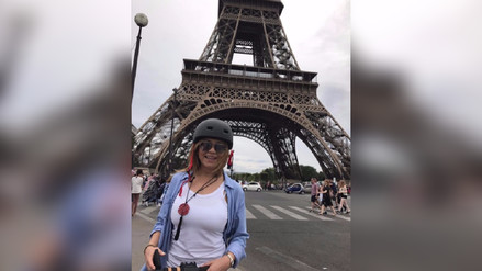 Fotos | Gisela Valcárcel recorre Europa junto a su familia