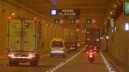Túnel Gambetta abre desde este jueves de manera definitiva