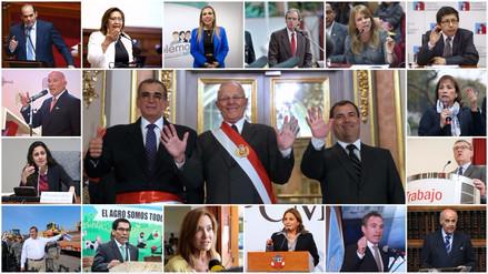 Así está conformado el nuevo gabinete ministerial de PPK