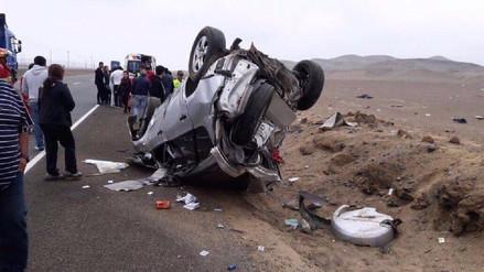 Mujer y su nieto mueren en accidente de tránsito en Huarmey