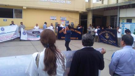 Médicos no suspenderán huelga en Lambayeque