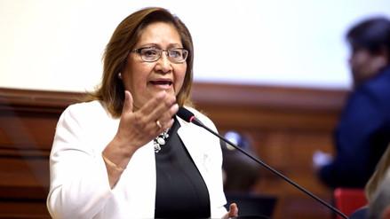 Ministra Choquehuanca: